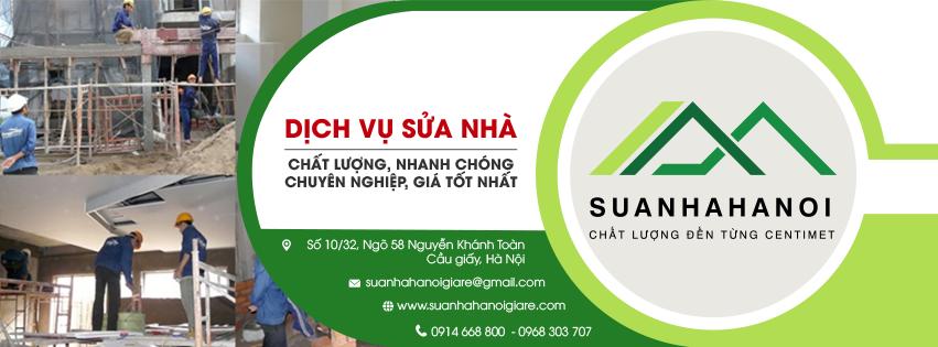 Sửa nhà Hà Nội giá rẻ - đơn vị sửa chữa nhà Số 1 Việt Nam